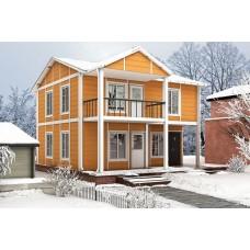 1210ft² Modular Double Storey Prefab House